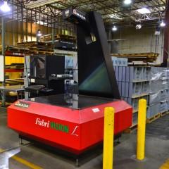 Fabrication Facility - FabriVision Machine