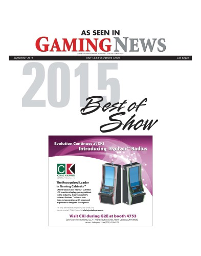 Cole Kepro - As Seen In Gaming News 2248 Evolver Radius Cabinet